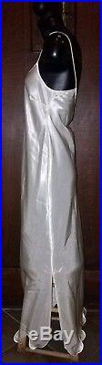 Gorgeous Vintage ZHANDRA RHODES Flame Hem Maxi Slip Dress Approx 6/M
