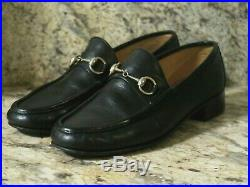 Gucci Vintage Horse Bit Driving Loafers Slip On Shoes Men Sz 43 M Italy 10 Us
