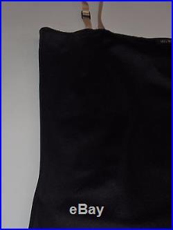 HELMUT LANG S/S 1996 Purple Applique Strap Slip Dress SIZE Vintage 90s Tech