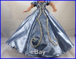 Hand Made Blue Dress, Underskirt, Slip Vintage Cissy Madame Alexander No Doll