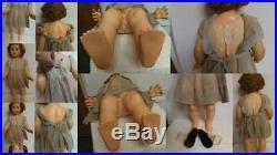 Ideal Penny Playpal Original Dress Slip Panty Black Shoes Socks Beautiful Doll