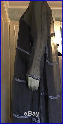 J Morgan Puett Shack Inc Vintage Organza Ribbon Dress withSlip dress