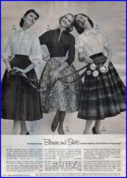 Laura Ashley 40s 50s Style Vintage Dress Low Back Crinoline Net Slip 12 16 L XL