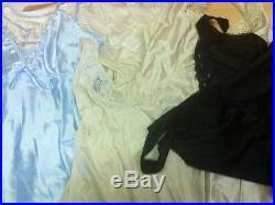 Lot of 100 Fund Dress Suit Babydoll Dress Nylon Vintage Dentelle Retailer