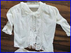 Lot of Antique Edwardian 1900's Womens Skirts Blouses Slips Pinafore