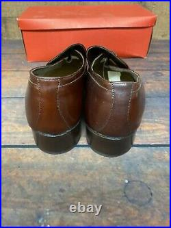 Men's VINTAGE 1970s Bostonian Pacers 6074 Loafers Slip On Shoes Leather Sz 10E