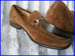 Mens Vintage Charles Tyrwhitt Suede Slip On Loafers Shoes UK 7.5 1/2 G EU 41.5