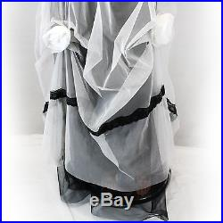 NEW NWT Nataya Plus Size Vintage Titanic Wedding Bridal Tulle Dress Slip Set 3X