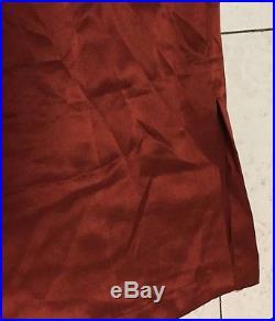 NWOT Creatures Of Comfort Silk Dress Tank Ruffle Urban Asymmetrical Vintage Slip