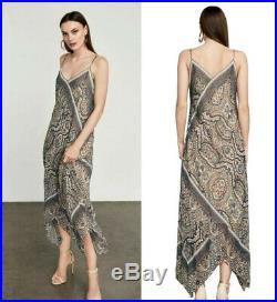 New Bcbg Max Azria Chloey Vintage Brocade Slip Dress Yts69n57 Size Xs $298.00