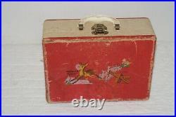 Nice! Lot Of Original Vintage Doll Dresses, Slips Mickey Goofy Antique Trunk