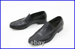 Nice! Vintage Tom Ford Era Gucci Black Leather Slip On Loafers Sz 10.5 D Italy