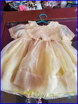 Original Vintage Suzy Susie Playpal Play Pal Dress and Slip