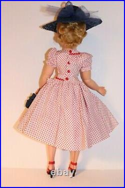 Outfit For Madame Alexander Cissy Others Dress Slip Straw Hat & Purse (No Doll)