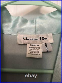 Pretty Christian Dior Lingerie Lot2 Robes/1 Slip DressEUCMust See