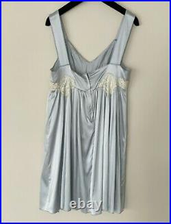 RARE! AUTHENTIC $1,550 Vintage Dolce & Gabbana Slip Dress US6 IT42