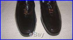 RARE JOHNSTON MURPHY Vintage Men's Black Tasseled Toe Slip-On/Dress Shoes- 11D