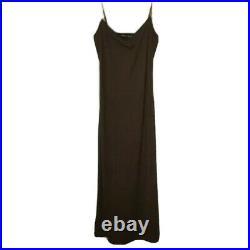 RARE NWT 90s Vintage Vivienne Tam Multi-Colored Plaid Dress + Slip