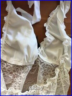 RARE OLD RELEASE Marilyn Ivory Chemise Dress Honey Birdette $4 EXPRESS Vintage