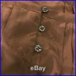 Rare Vintage 1970s Guy Laroche Silk Slip Dress Size XS