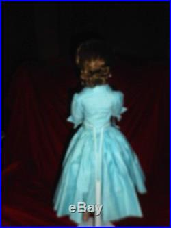 STUNNING BRUNETTE VINTAGE CISSY DOLL BY M. A. TAGGED 2130 DRESS With MA SLIP/HOSE