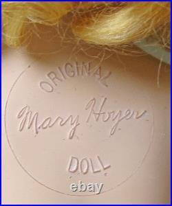 Signed Mary Hoyer In Tagged Slip, Taffeta Dress Spectacular