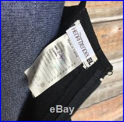 Sonia Rykiel Vintage 80s Black Ruffle Sleeveless Slip Dress Size XS