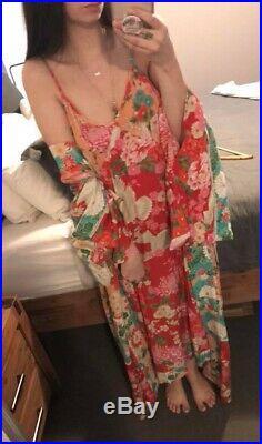 Spell Designs Gyspy Boho Vintage Style Delilah Patchwork MIDI Slip Dress Bnwt M