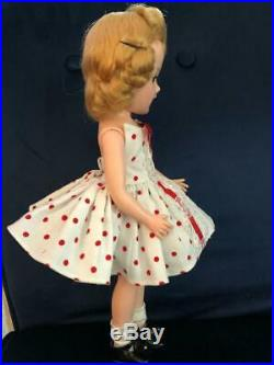 Stunning Near Mint fully Tagged Mary Hoyer doll, dress and slip in original box