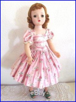 Stunning Vtg Cissy, Perfect Face & Hair, Original Wallpaper Dress, Shoes, Slip