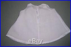 Sweet! Blue Organdy Shadow Print Dress Bonnet -slip -for Your 15 Dydee Doll