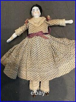 THE BEST DRESS SLIP PANTALOONS China Head Doll ANTIQUE Parian Dollhouse Germany