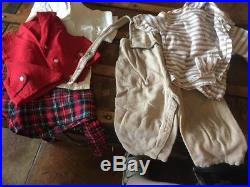 TWINS! GIRL BOY HUGE LOT VINTAGE BABY CLOTHES Dresses Slips Pinafores Pjs Shoes