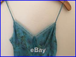 ULTRA Betsey Johnson Vintage Silk Slip Dress XS S RARE
