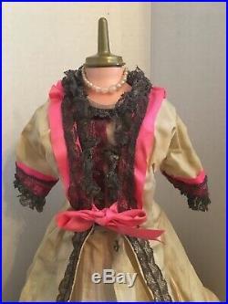 VERY RARE Vintage Madame Alexander Lady Windermere Dress Hat Shoes Slip Glove
