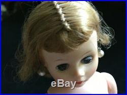 VINTAGE 1950s 10 Madame Alexander CISSETTE withEarrings Dress Slip & Panty