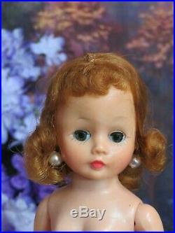 VINTAGE 1950s MADAME ALEXANDER CISSETTE DOLL tagged QUEEN DRESS slip CROWN