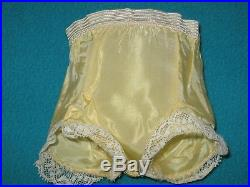 VINTAGE 1957 CISSY TAGGED YELLOW DRESS, SLIP, PANTY by Madame Alexander
