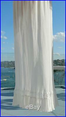 VINTAGE A. J Griffin 1950s Original Rare Beautiful Feminine Negligee Slip Dress
