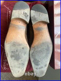 VINTAGE Artioli Brown Suede Men's Slip-On Dress Shoes Size 9