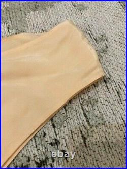 VINTAGE Original 1930s Peach Silk Slip Dress Good Large Size