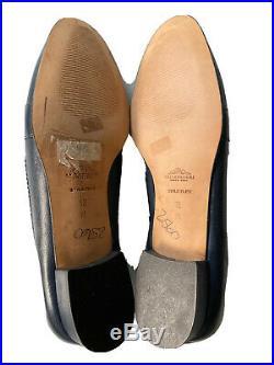 VTG BALLY Italy Women Slip-On Venetian Loafer Business Casual Dress Shoe Sz 12