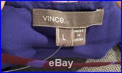 Vince Silk Floral Vtg 90s Style Maxi Slip Dress NWT L 10