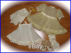 Vintage 16 Talking Terri Lee Doll Tagged Party Dress &slip++