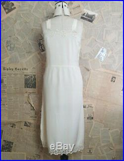 Vintage 1920s silk slip, dress slip, wedding, bridal