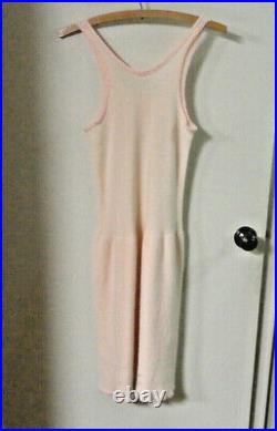 Vintage 1930s-'40s MONTGOMERY WARD Carol Brent WOOL Pink Ladies 38-40 DRESS SLIP