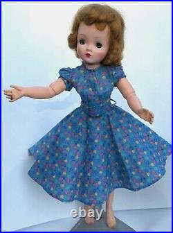 Vintage 1950's Madame Alexander CISSY Doll with Dress Undergarments Can Can Slip
