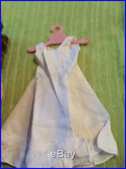 Vintage 1950s Ideal 90 W Wedding Bride Doll & Dress Vail Slip