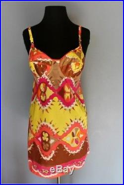 Vintage 1960 Emilio Pucci Slip Dress, rare & excellent condition