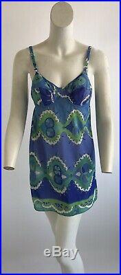 Vintage 1960s Emilio Pucci EPFR Slip Dress